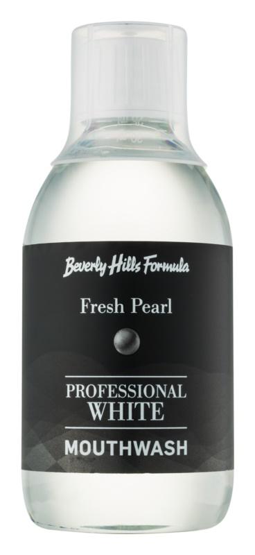 Beverly Hills Formula Professional White Range wybielający płyn do płukania jamy ustnej odnawiający szkliwo zęba