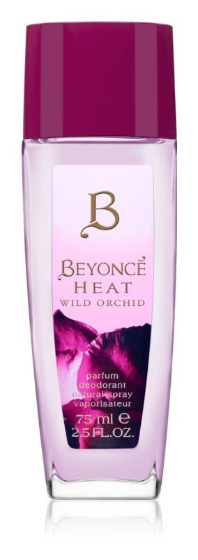 Beyoncé Heat Wild Orchid deodorant s rozprašovačem pro ženy 75 ml