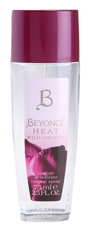 Beyonce Heat Wild Orchid Deo met verstuiver voor Vrouwen  75 ml
