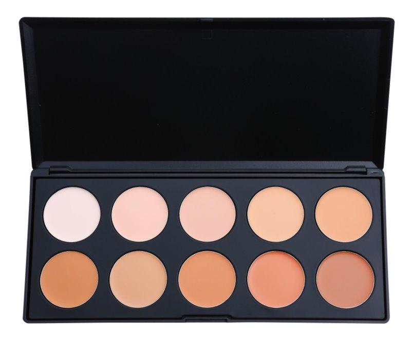 BH Cosmetics 10 Color palette di correttori e fondotinta