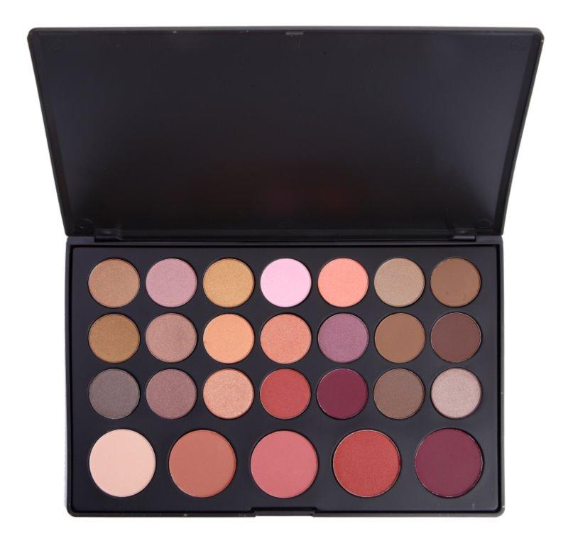 BH Cosmetics 26 Color paleta očných tieňov a líceniek