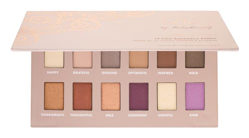 BH Cosmetics Be...by BubzBeauty paleta cieni do powiek