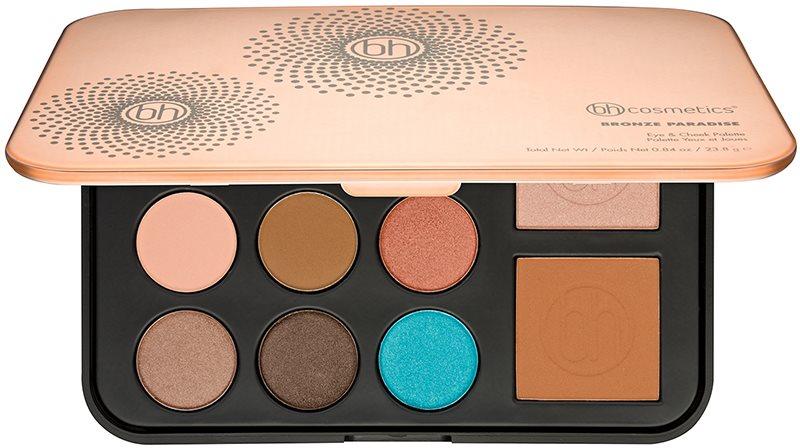 BH Cosmetics Bronze Paradise multifunkčná paleta