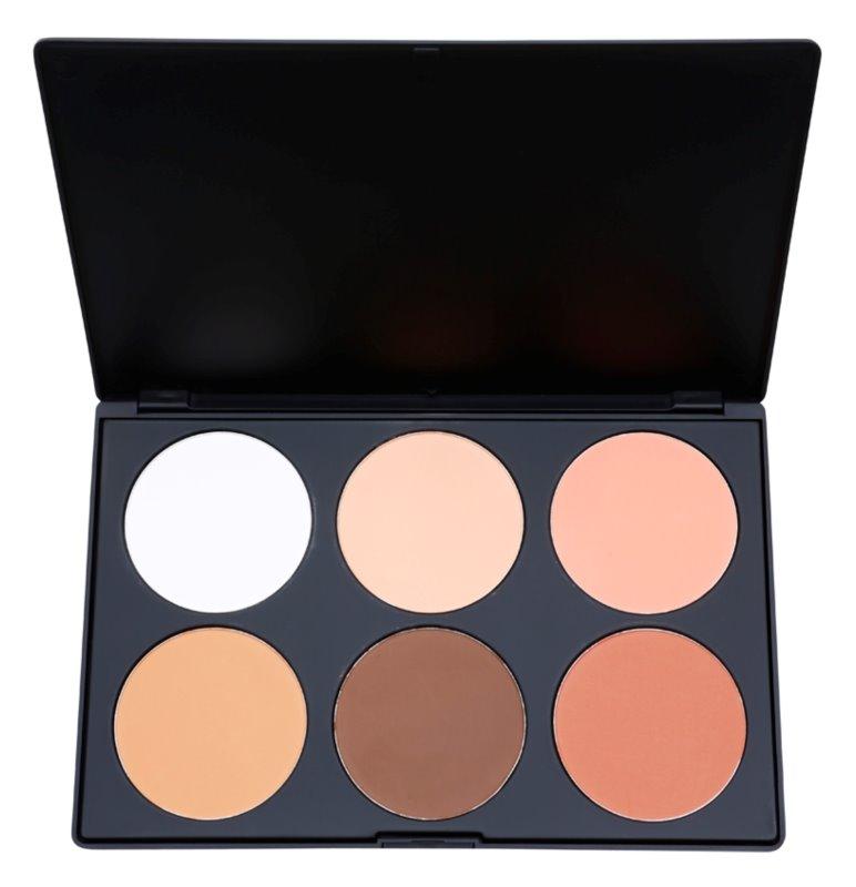 BH Cosmetics Contour & Blush paleta do konturowania twarzy