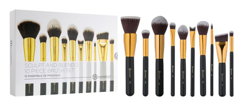 BH Cosmetics Sculpt and Blend 2 Brush Set