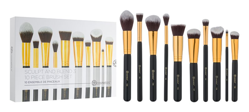 BH Cosmetics Sculpt and Blend 3 Pinselset