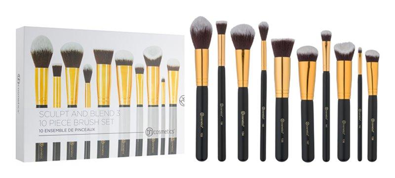 BH Cosmetics Sculpt and Blend 3 set čopičev