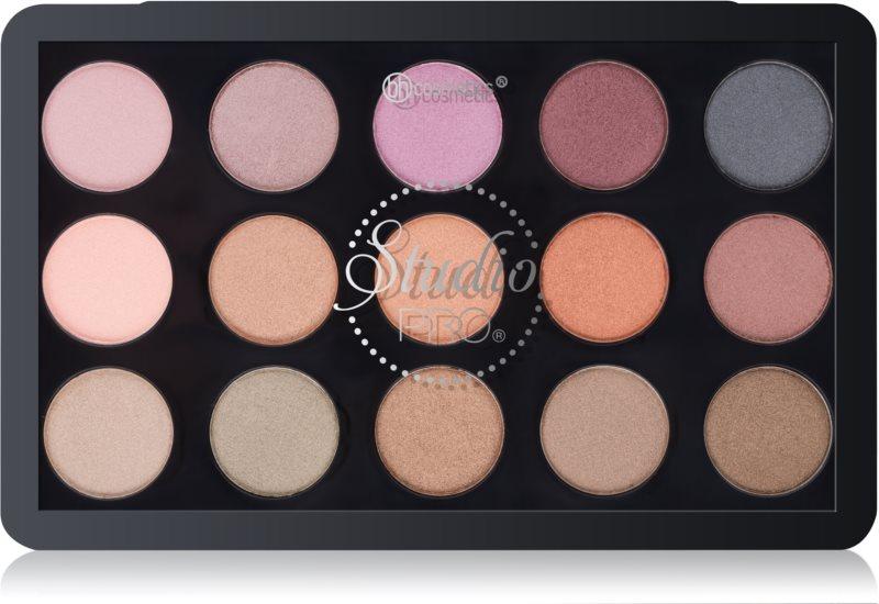 BH Cosmetics Studio Pro palette fards à paupières application sèche et humide