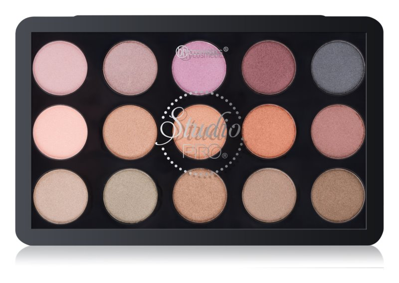 BH Cosmetics Studio Pro Palette of Eyeshadows for Wet and Dry Effect