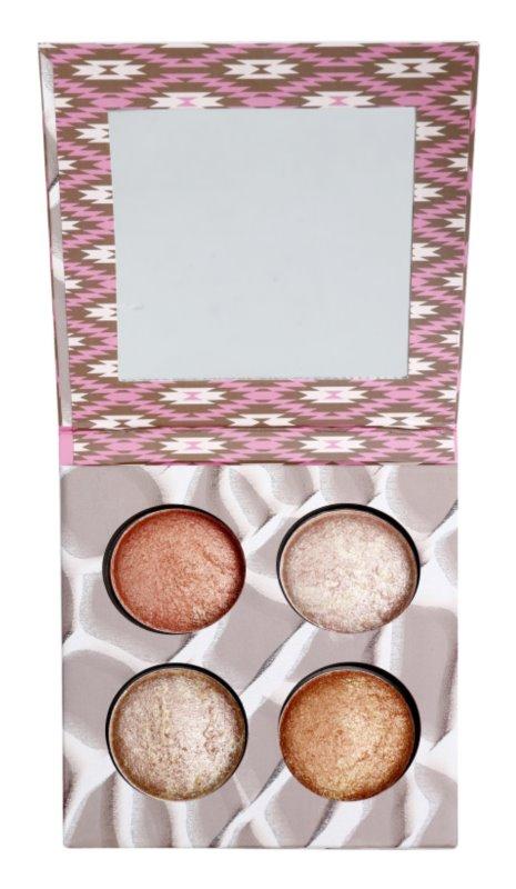 BH Cosmetics Wild & Radiant paleta na kontury obličeje