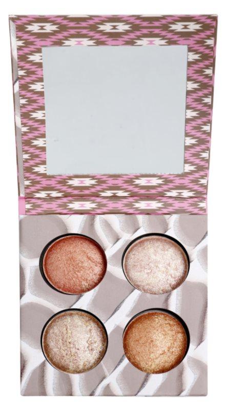 BH Cosmetics Wild & Radiant palette contour de visage