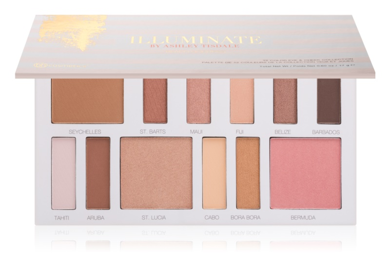 BH Cosmetics Illuminate by Ashley Tisdale Lidschatten & Kontourpalette