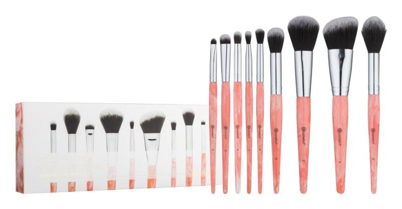 BHcosmetics Rose Quartz набір щіточок для макіяжу