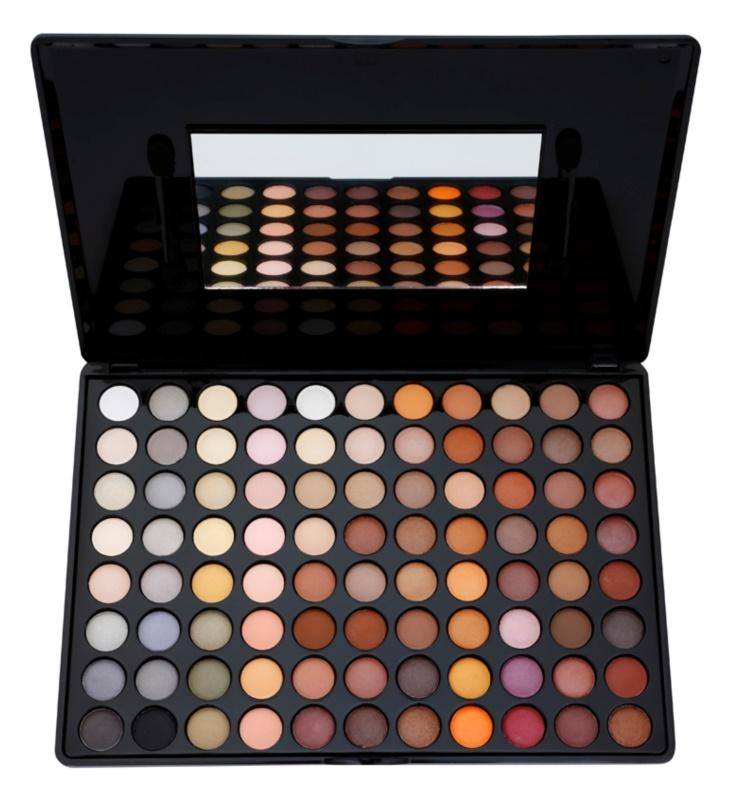 BH Cosmetics 88 Color Neutral szemhéjfesték paletta tükörrel