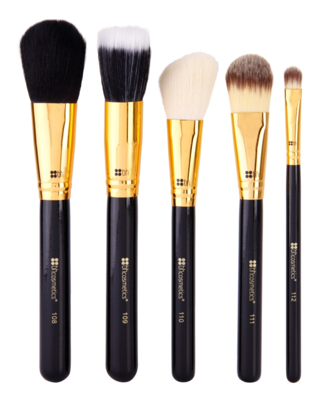BHcosmetics Face Essential set di pennelli