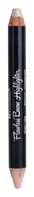 BHcosmetics Flawless zvýrazňující tužka na kontury obočí 2v1
