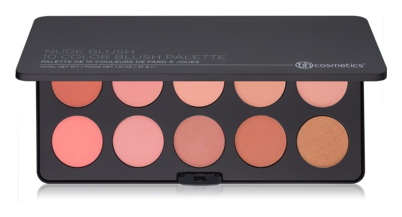 BHcosmetics Nude Blush paleta líceniek