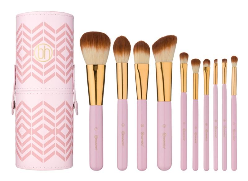 BHcosmetics Pink Perfection набір щіточок для макіяжу