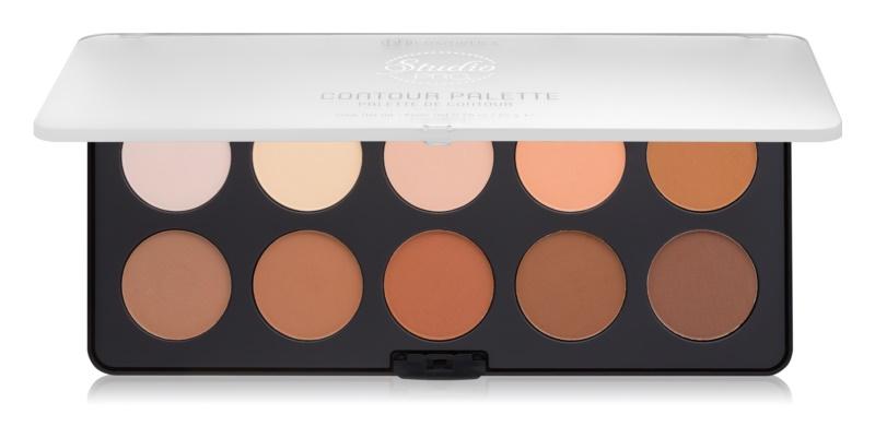 BHcosmetics Studio Pro palette contour de visage avec highlighter