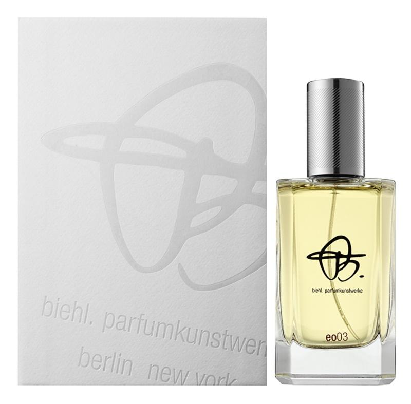 Biehl Parfumkunstwerke EO 03 Parfumovaná voda unisex 100 ml
