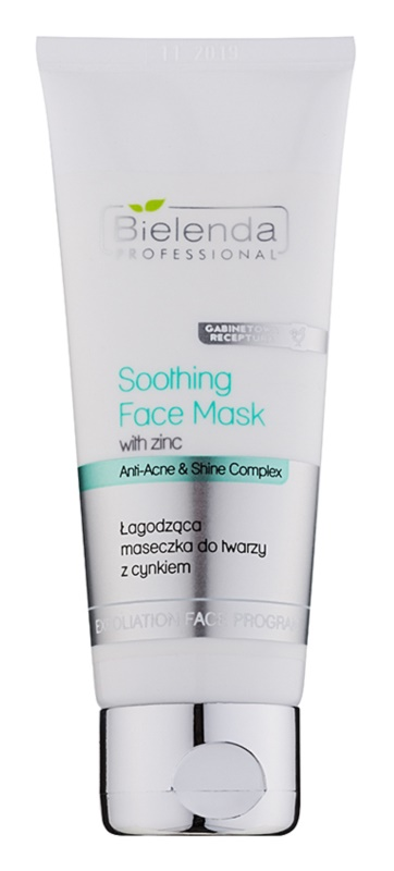 Bielenda Professional Anti-Acne & Shine Complex Soothing Mask For Oily Acne - Prone Skin