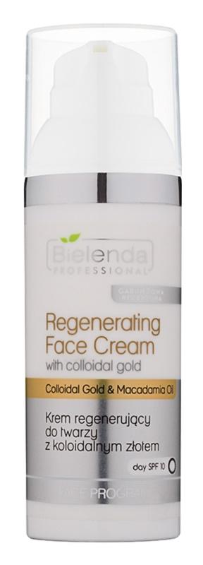 Bielenda Professional Collodial Gold & Macadamia Oil regenerierende Creme SPF 10