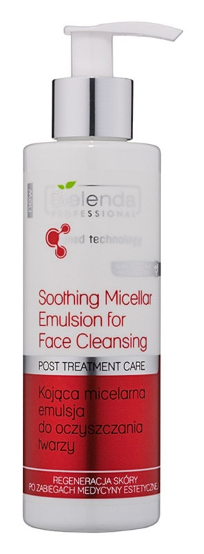 Bielenda Professional Med Technology Cleansing Micellar Emulsion with Soothing Effect