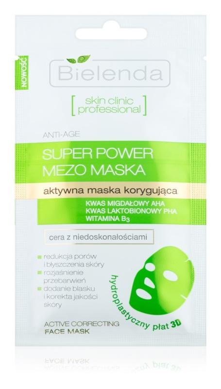 Bielenda Skin Clinic Professional Correcting Zellschicht-Maske für Unvollkommenheiten wegen Akne Haut