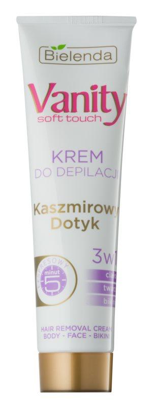 Bielenda Vanity Soft Touch crème dépilatoire pour peaux sensibles