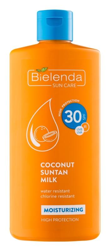 Bielenda Bikini Coconut lait solaire hydratant SPF30