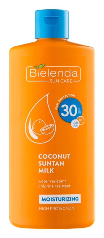 Bielenda Bikini Coconut ενυδατικό αντηλιακό γαλάκτωμα SPF30