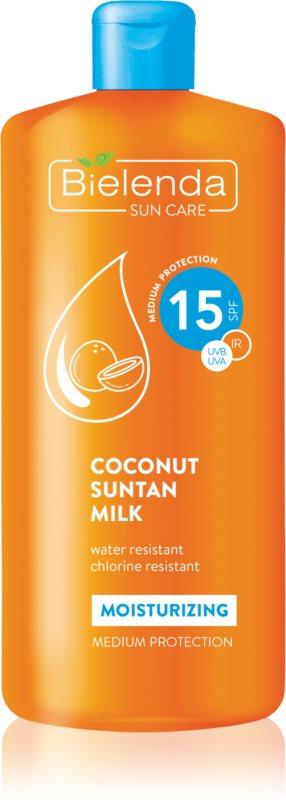 Bielenda Sun Care lait solaire hydratant SPF 15