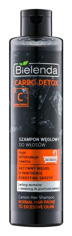 Bielenda Carbo Detox Active Carbon Shampoo mit Aktivkohle für normales bis fettiges Haar