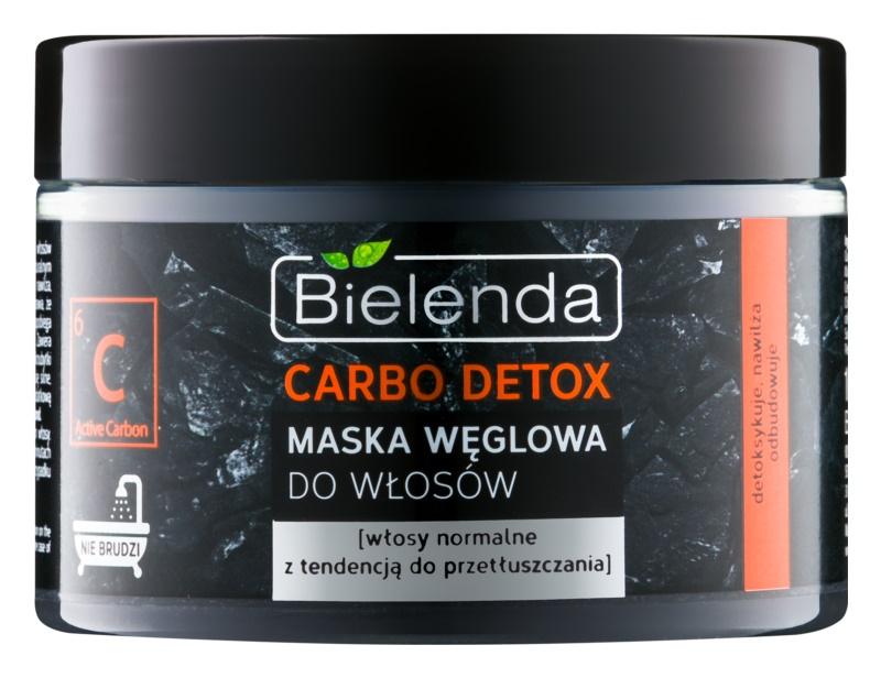 Bielenda Carbo Detox Active Carbon maska na vlasy s aktivním uhlím