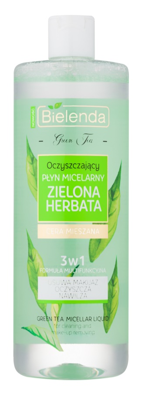 Bielenda Green Tea lozione micellare detergente