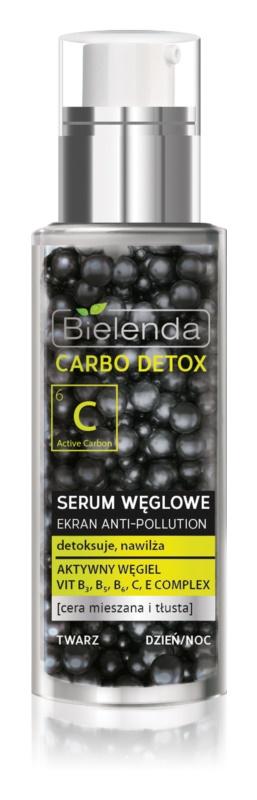 Bielenda Carbo Detox Active Carbon Entgiftendes Gesichtsserum mit Aktivkohle