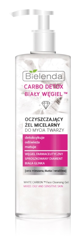 Bielenda Carbo Detox White Carbon čisticí gel