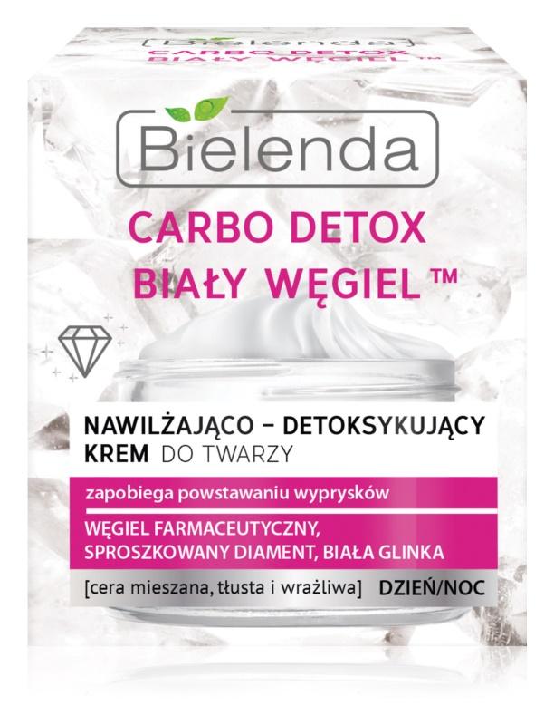 Bielenda Carbo Detox White Carbon crème jour et nuit hydratante