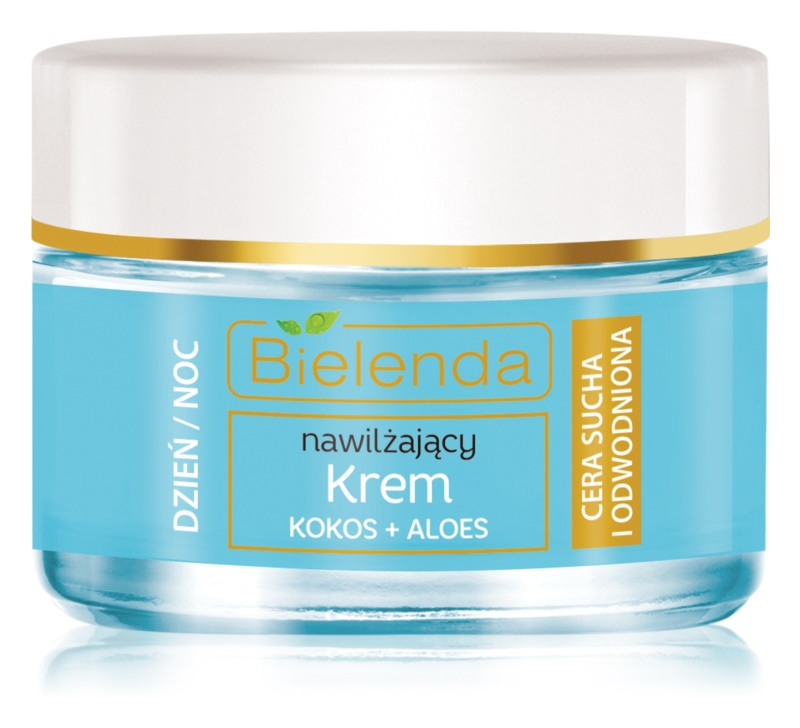 Bielenda Hydra Care Coconut & Aloe Intensive Moisturizing Cream for Dehydrated Dry Skin