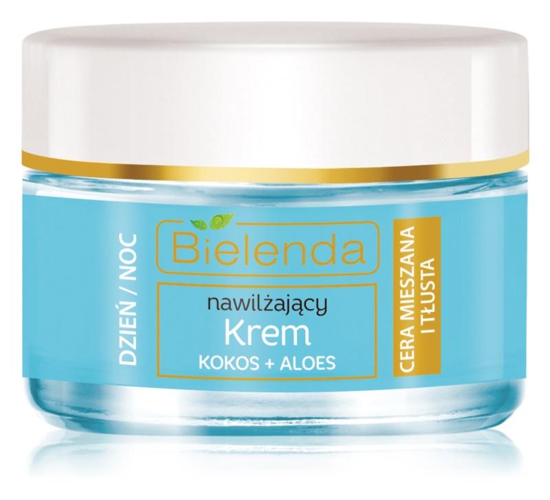 Bielenda Hydra Care Coconut & Aloe gel-crème léger hydratant pour peaux grasses et mixtes