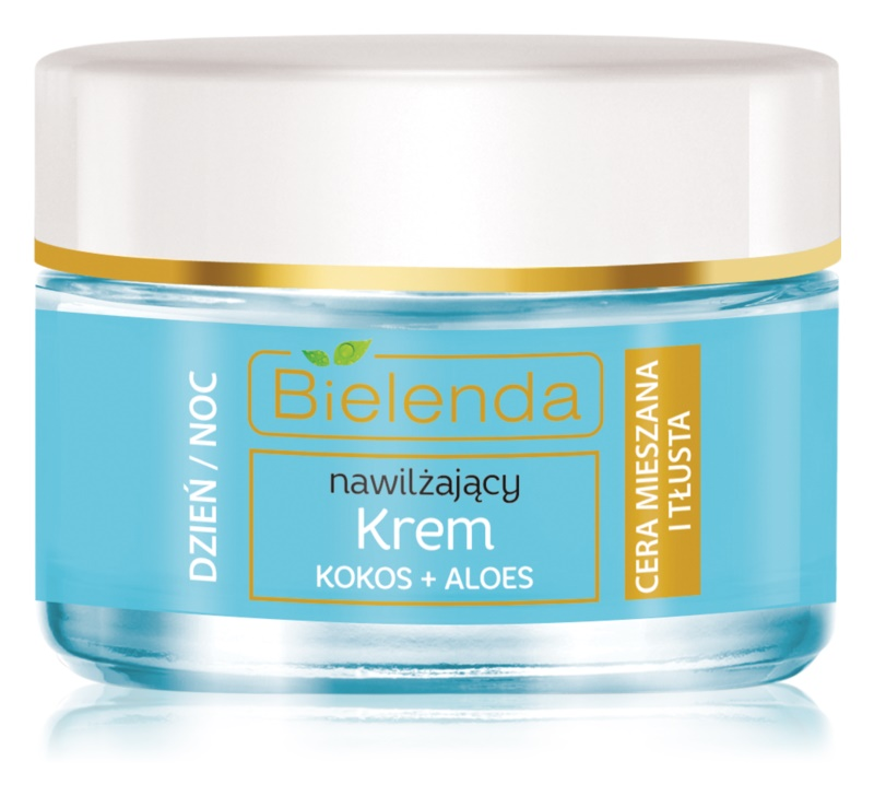 Bielenda Hydra Care Coconut & Aloe Light Hydrating Gel Cream for Oily and Combiantion Skin