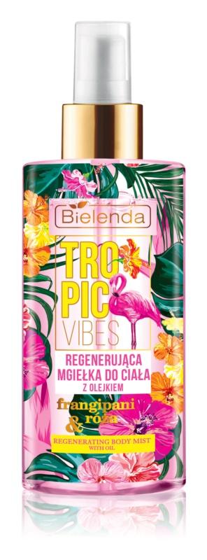 Bielenda Tropic Vibes spray nebulizzato rigenerante per il corpo