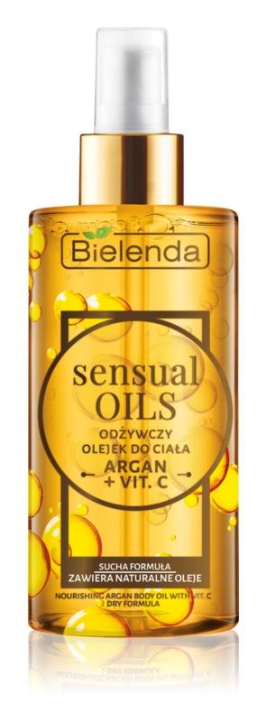 Bielenda Sensual Body Oils olio corpo nutriente con vitamina C