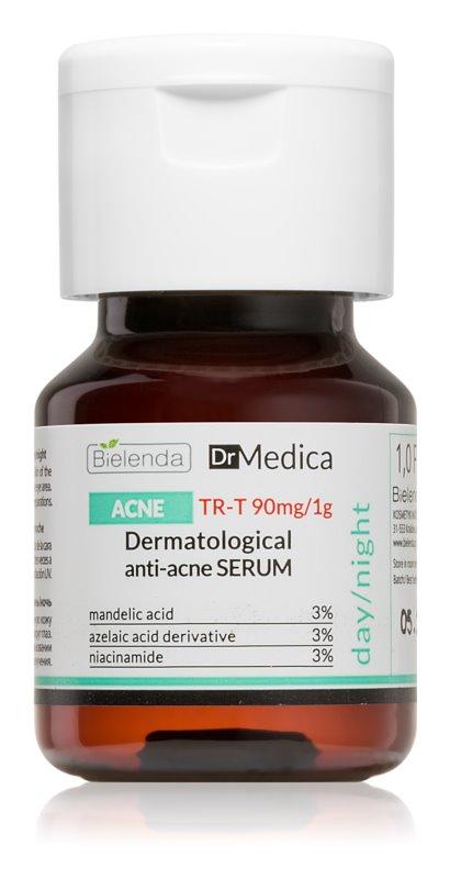 Bielenda Dr. Medica Acne Gezichtsserum voor Regulatie van Overmatige Talgproductie en Acne