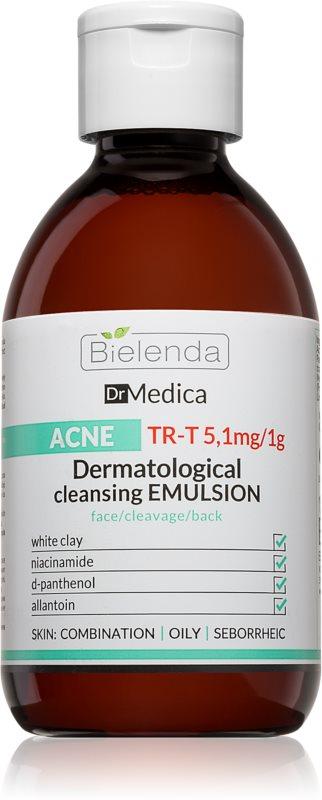 Bielenda Dr Medica Acne dermatološka čistilna emulzija za mastno k aknam nagnjeno kožo
