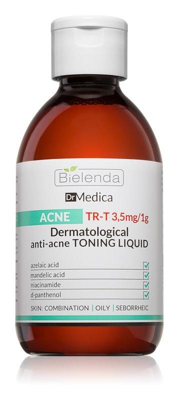 Bielenda Dr Medica Acne lozione tonica detergente viso per pelli grasse con tendenza all'acne