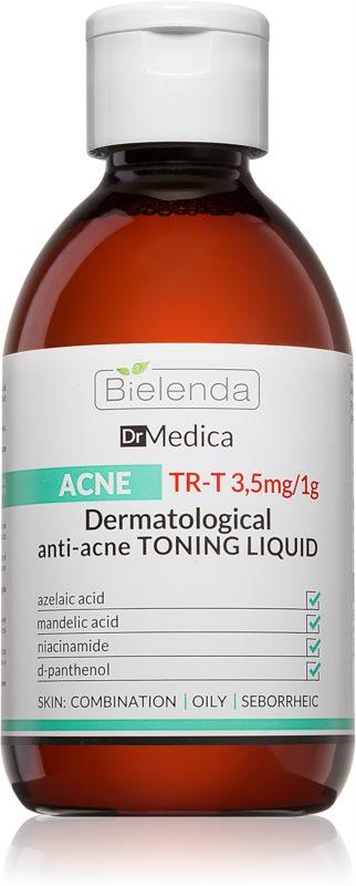 Bielenda Dr. Medica Acne reinigend tonicum voor Vette Huid met Acne Neiging