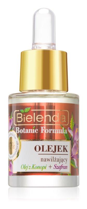 Bielenda Botanic Formula Hemp + Saffron olje za obraz z vlažilnim učinkom