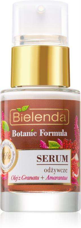 Bielenda Botanic Formula Pomegranate Oil + Amaranth siero viso lenitivo e nutriente