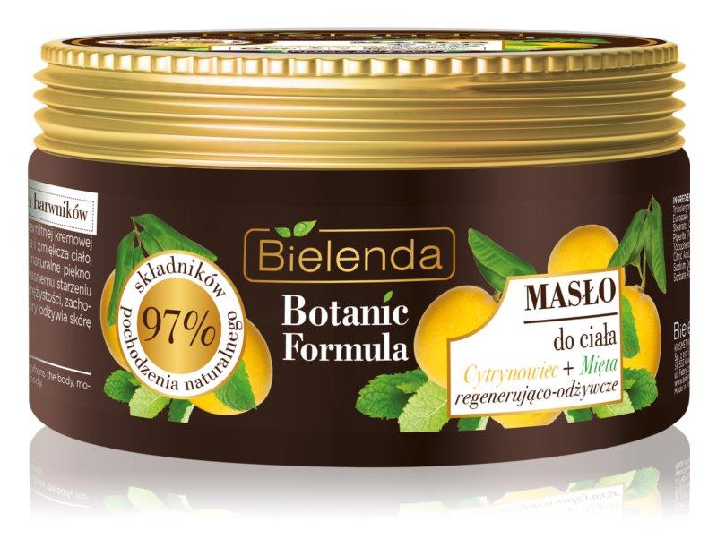 Bielenda Botanic Formula Lemon Tree Extract + Mint θρεπτικό βούτηρο για το σώμα